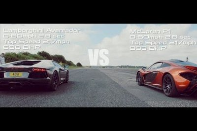 Video: Some of the Greatest Supercars Ever Battle on a Drag Strip
