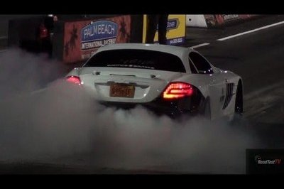 Video: Renntech Mercedes SLR sets new quarter-mile record