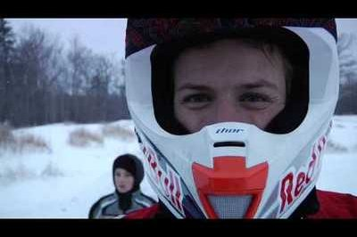 Double backflipping snowmobiles, a rider's favorite winter activity