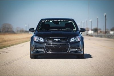Video: Chevrolet SS HPE600 by Hennessey Runs the Quarter Mile in Under 12 Seconds