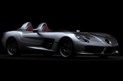 Mercedes Mclaren SLR Stirling Moss video