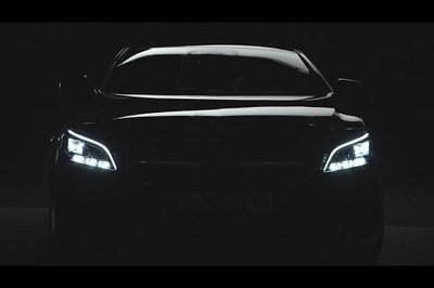 Mercedes Previews Its New LED Headlights