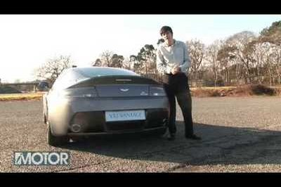 Video: Aston Martin V12 Vantage in detail