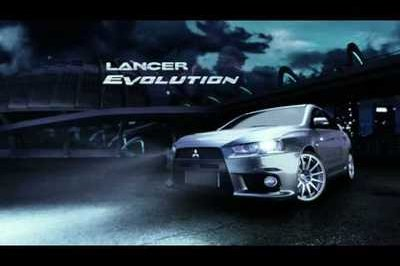 Video: Mitsubishi Lancer Evolution commercial from Australia