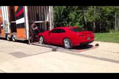 Video: The First Set of COPO Camaros Loaded for Delivery and Oh, What a Noise They Make