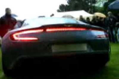Video: Aston Martin One-77 exhaust note