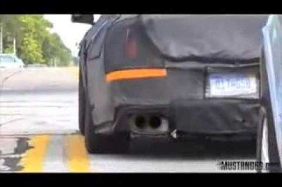 Spy Video: Are You the 2015 Mustang GT350?