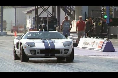 Video Ford Gt Runs The Quarter Mile In  Seconds