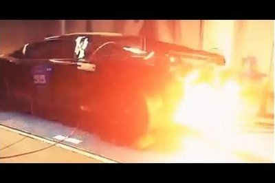 Video: 2,000-Horsepower Lamborghini Gallardo Shoots Fire on the Dyno