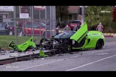 McLaren 650 S Totaled In Multi-Vehicle Crash