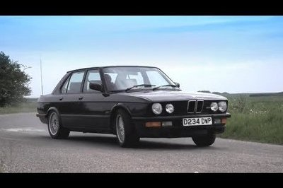 Chris Harris Drives His Unusual Dream Car: A 1986 BMW M5