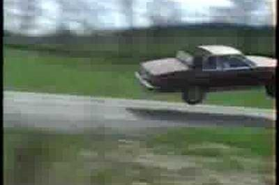 Video: Insane Jump by a Buick Le Sabre