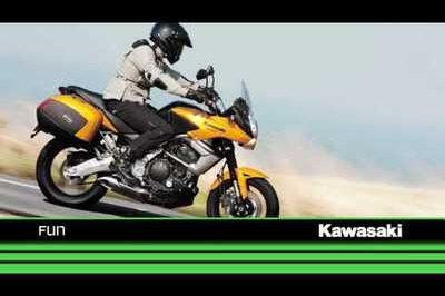 Video: 2010 Kawasaki Versys