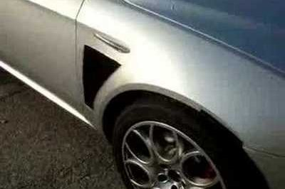 Alfa Romeo 159 GTA spy video