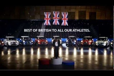 Video: MINI wishes British Olympic athletes good luck with horn orchestra of national anthem
