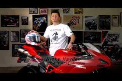 Ride Safe Indiana Compaign starring Nicky Hayden [w/videos]