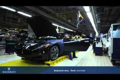 Video: Maserati Factory Tour - Part 2