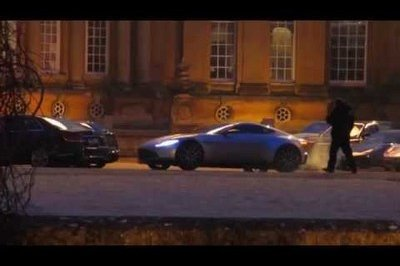 Aston Martin DB10 Caught On The Spectre Set: Video