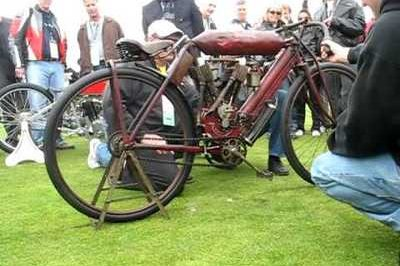Original 1908 Indian Motorcycle is still going strong today!
