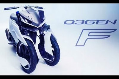 Video: Yamaha Showcases Future of Three-Wheelers With 03Gen Concepts