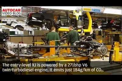 Video: An inside look at how a 2010 Jaguar XJ is produced