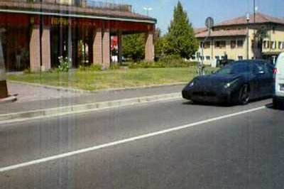 Unidentified Ferrari Object - or UFO - spotted outside company headquarters
