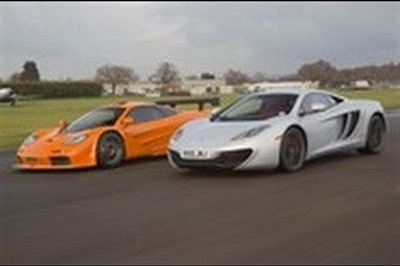 Battle of the McLarens: F1 GTR takes on the MP4-12C