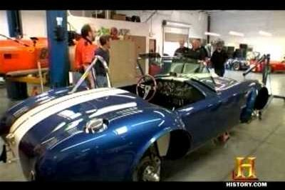 Video: Tow company owner gets paid to own an authentic Shelby Cobra body and chassis
