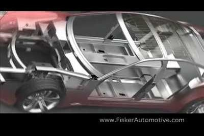Fisker Karma promotional video