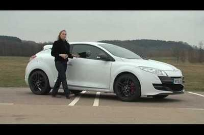Video: Fifth Gear's Vicki Butler-Henderson drives Renault Megane RS