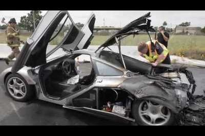 Video: McLaren F1 On Fire