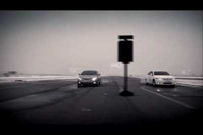 Mid-sized Mayhem: 2010 Hyundai Sonata takes on 2010 Toyota Camry in a drag race