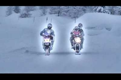 Slidescooter: winter riding with no boundaries