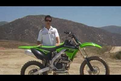 Kawasaki releases KX250F/KX450F video previews