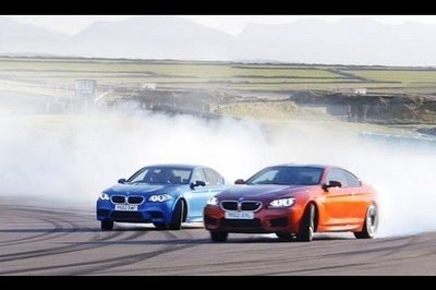 Video: 2013 BMW M5 vs 2013 BMW M6 Coupe