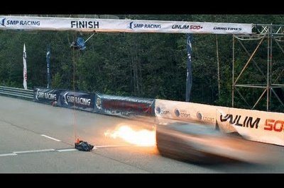 Video: Lamborghini LP570-4 Hits 250 MPH and Catches fire