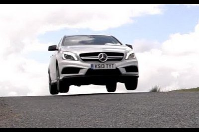 Video: Chris Harris Reviews the Mercedes A45 AMG and BMW M135i
