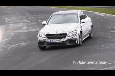 Video: 2015 Mercedes-Benz C63 AMG Laps Nurburgring