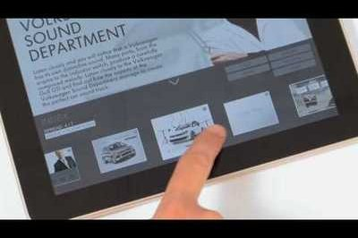Video: Volkswagen demos new 'DAS' virtual magazine for the iPad