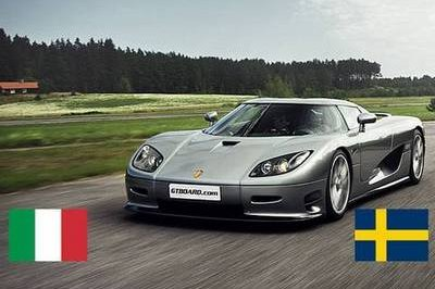 Video: Ferrari 599 GTB F1 vs Koenigsegg CCR Evolution
