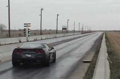 Video: Hennessey Corvette ZR750 On The Circuit
