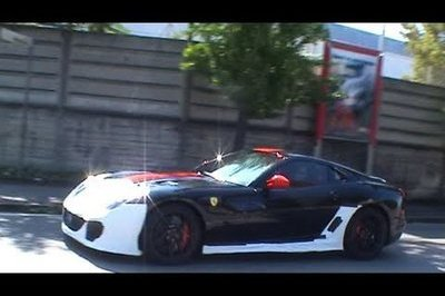 Video: Another Ferrari 599 GTO spotted doing some test runs