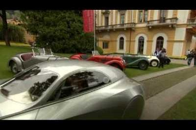 Video: Replica of BMW's 328 Kamm Coupe makes appearance at the Concorso d'Eleganza Villa d'Este