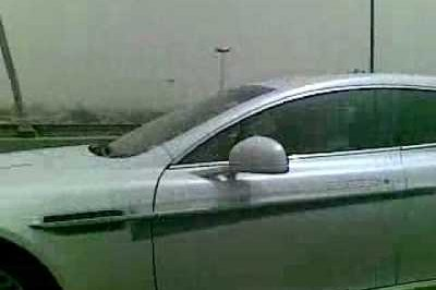 Video: Aston Martin Rapide spied in Kuwait