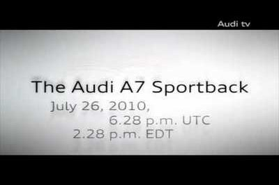 2011 Audi A7 Sportback to be unveiled next week