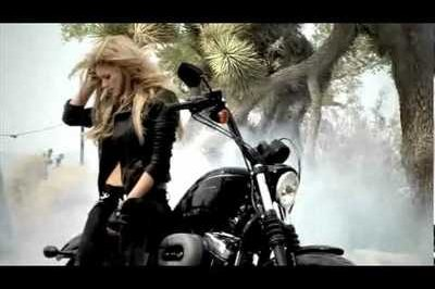 Video: Behind the scenes with Marisa Miller and Harley Davidson
