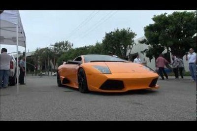 Video: Supercar Parade in Los Angeles