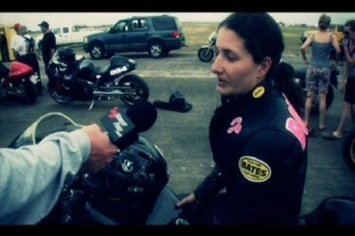 The fastest women in the world on a motorcycle