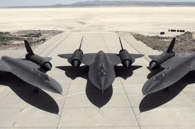 Check Out This Recently Released Footage of the Legendary SR-71 Blackbird