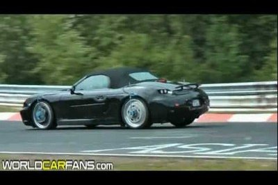 Video: 2011 Porsche Boxster testing at Nurburgring